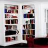 white-corner-bookcase