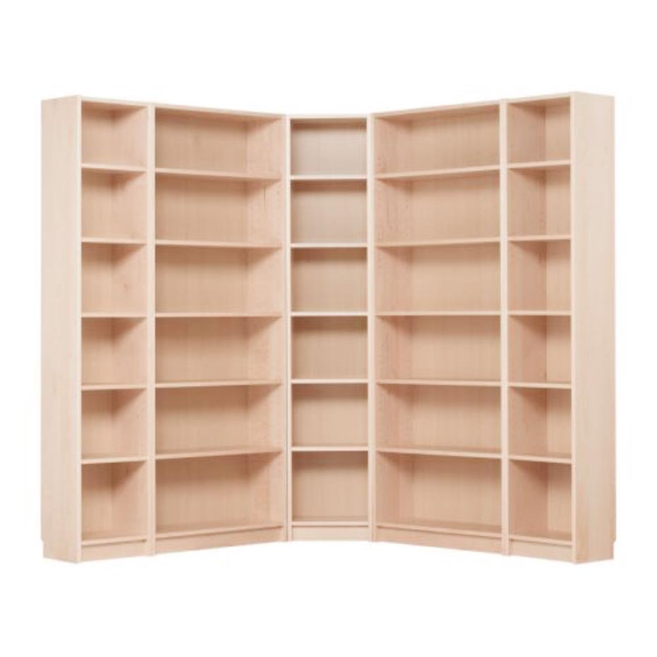 bookshelf wooden book ikea furniture bookcase corner shelf amusing books brown