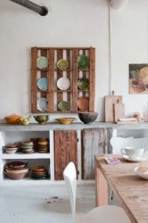 Kitchen Cabinet Wood Pallet Furniture Idea