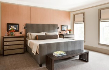 Logan Circle men bedroom