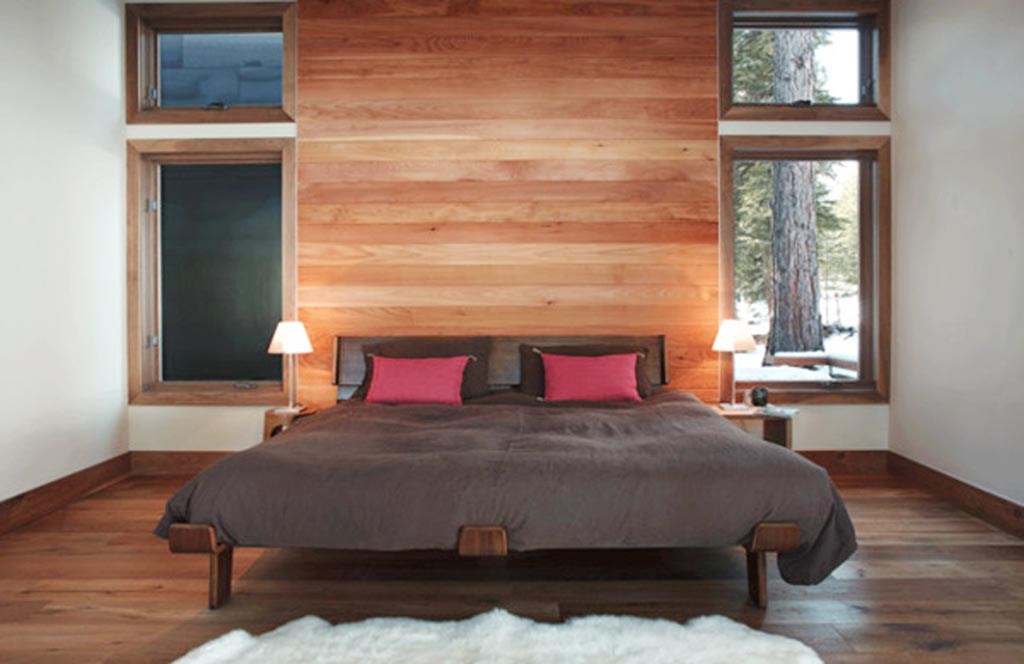 Martis Camp men bedroom