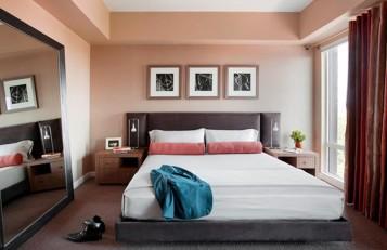 Modern Condo men bedroom