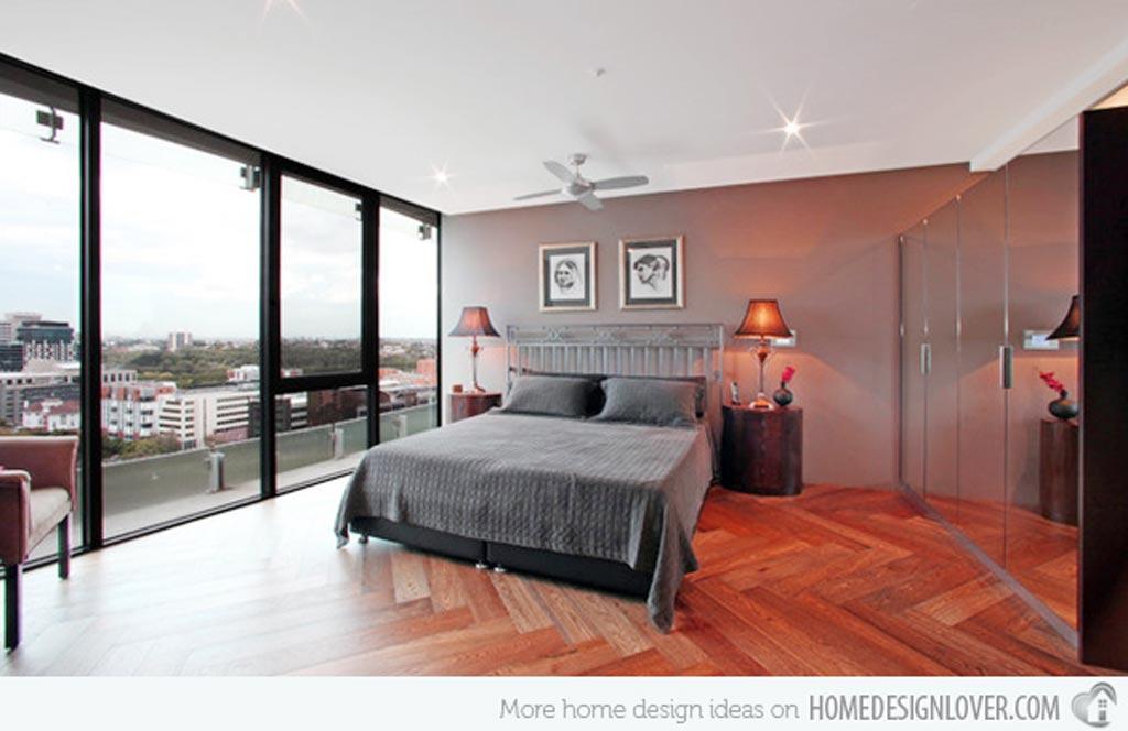 Modern men bedroom
