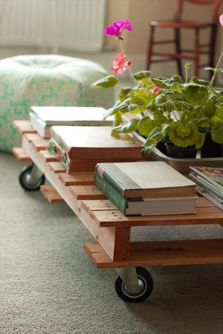 Table Wood Pallet Furniture Idea