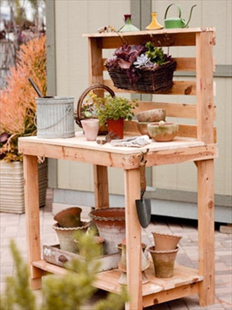 Wood Pallet Furniture Idea 027