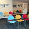 colorful-waiting-room-chairs