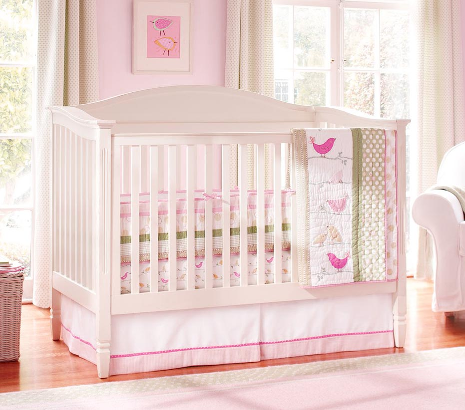 cool baby bedding pottery barn style