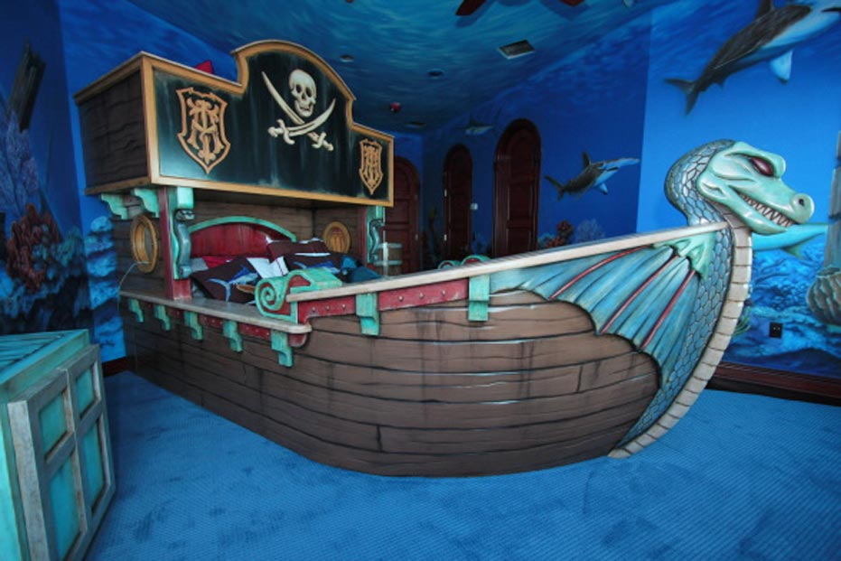 Cool Pirate Bedroom Ideas