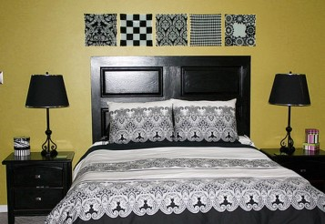 Diy headboard idea 1