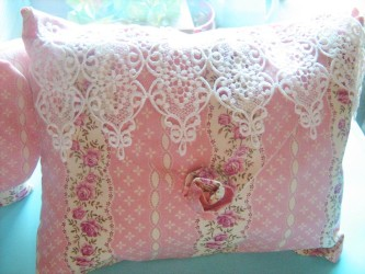 French country decorative pillow