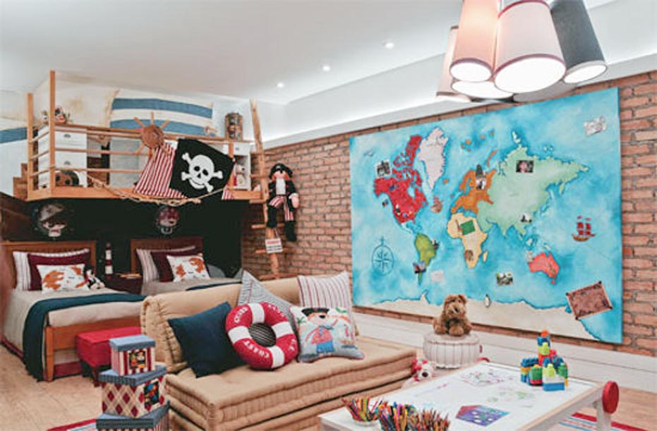 Great Pirate Bedroom Ideas