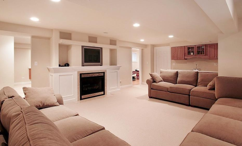 Living Space Basement Remodel 12