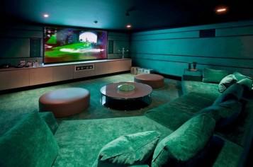 Media room basement remodel 21