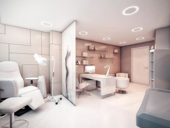 Medical office design modern look idea