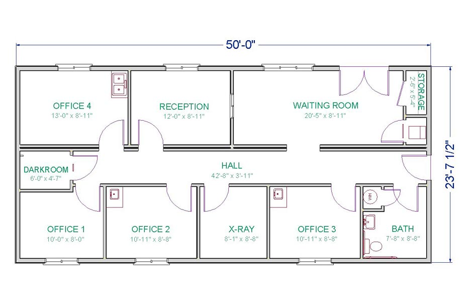 Medical office layout plan spotlats for Office arrangement ideas