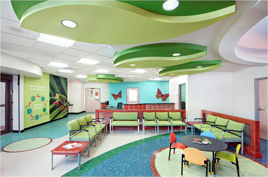 medical office waiting room Interior Design