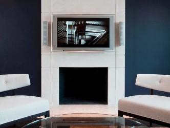 Modern fireplace idea