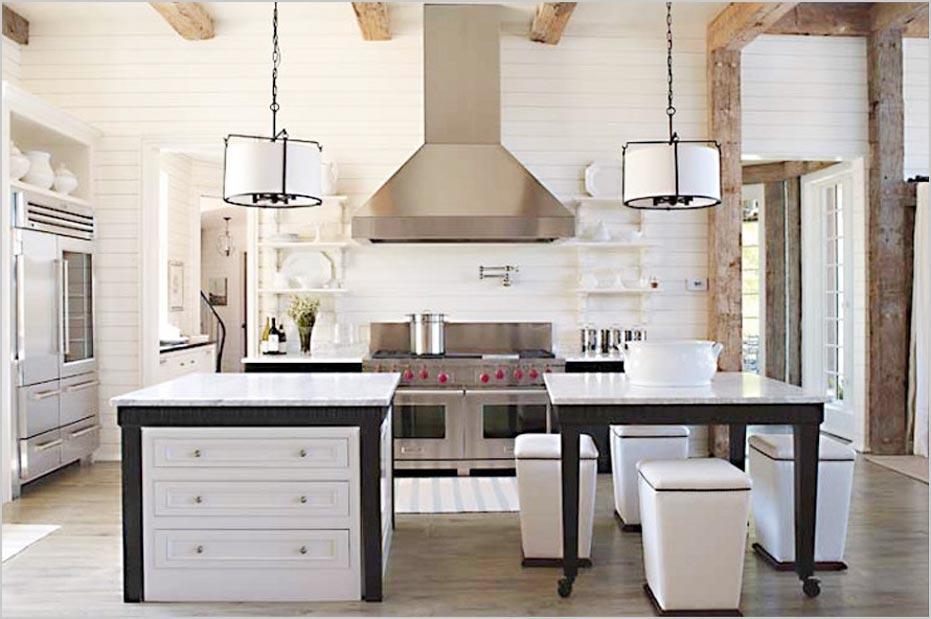 Modern Kitchen Island Table Combination
