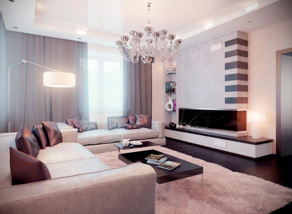 modern living room palets idea