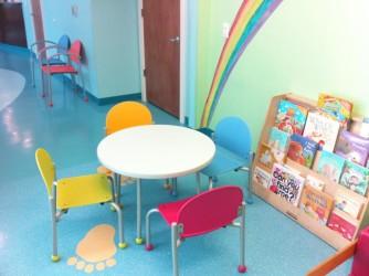 Pediatric waiting room chairs