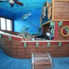 pirate-bedroom-ideas-blue-wall