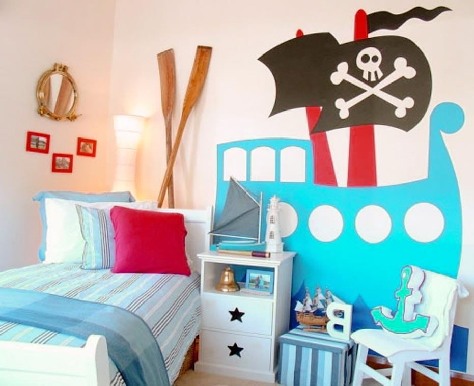 pirate bedroom theme