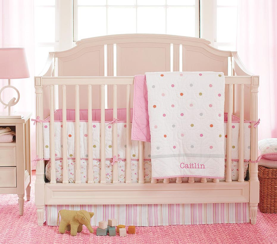 pottery barn baby bedding