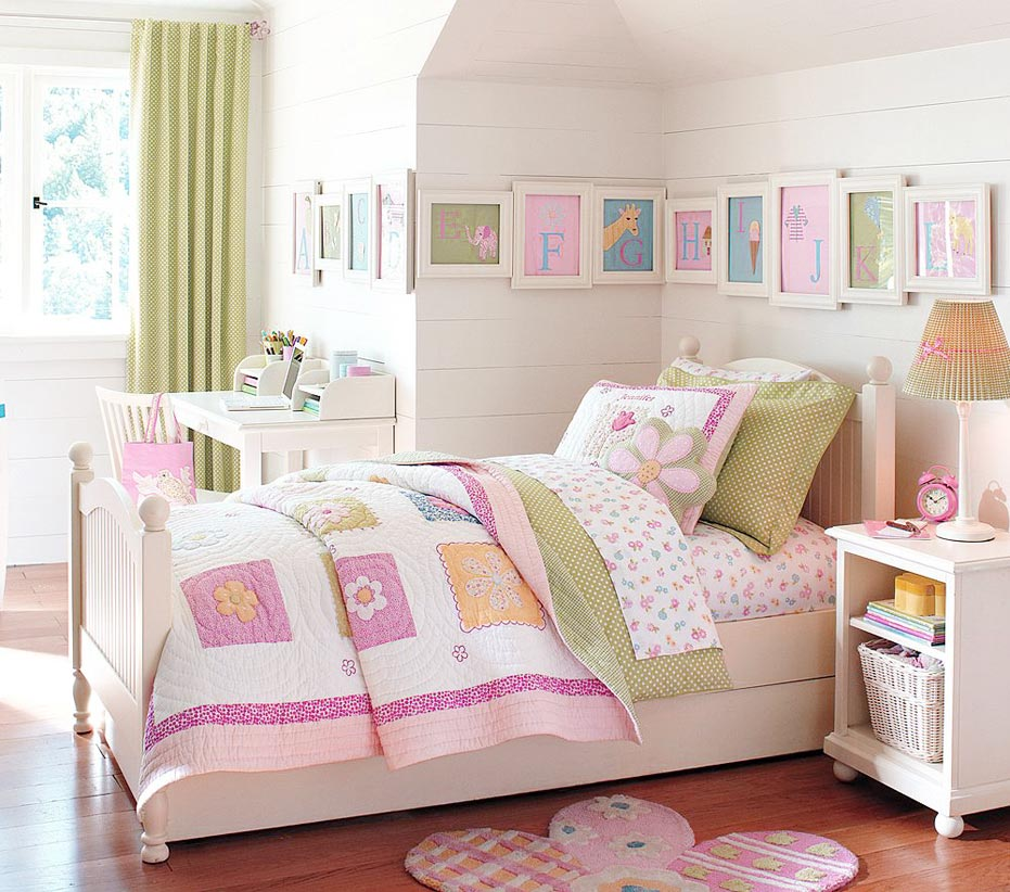 pottery barn kids bedroom theme