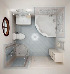 Small Bathroom Idea To Design A Small Space