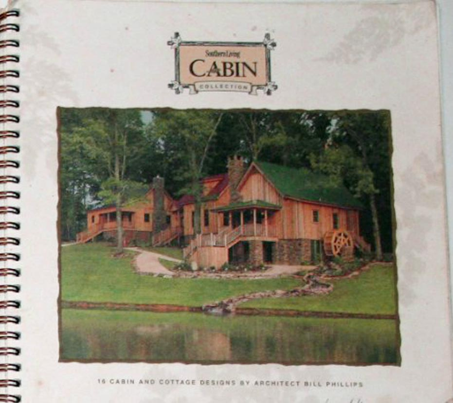 southern living cabin collection 3 spotlats