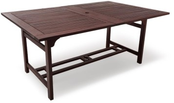 Strathwood patio furniture extended dining table