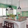 turquoise-blue-kitchen-set