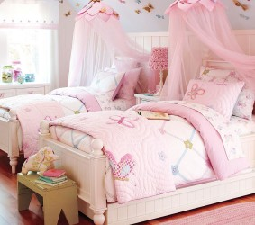 Twin pottery barn bedroom