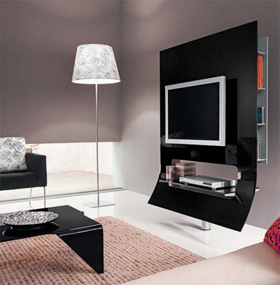 Unique tv stand ideas 1 spotlats - Muebles para television modernos ...