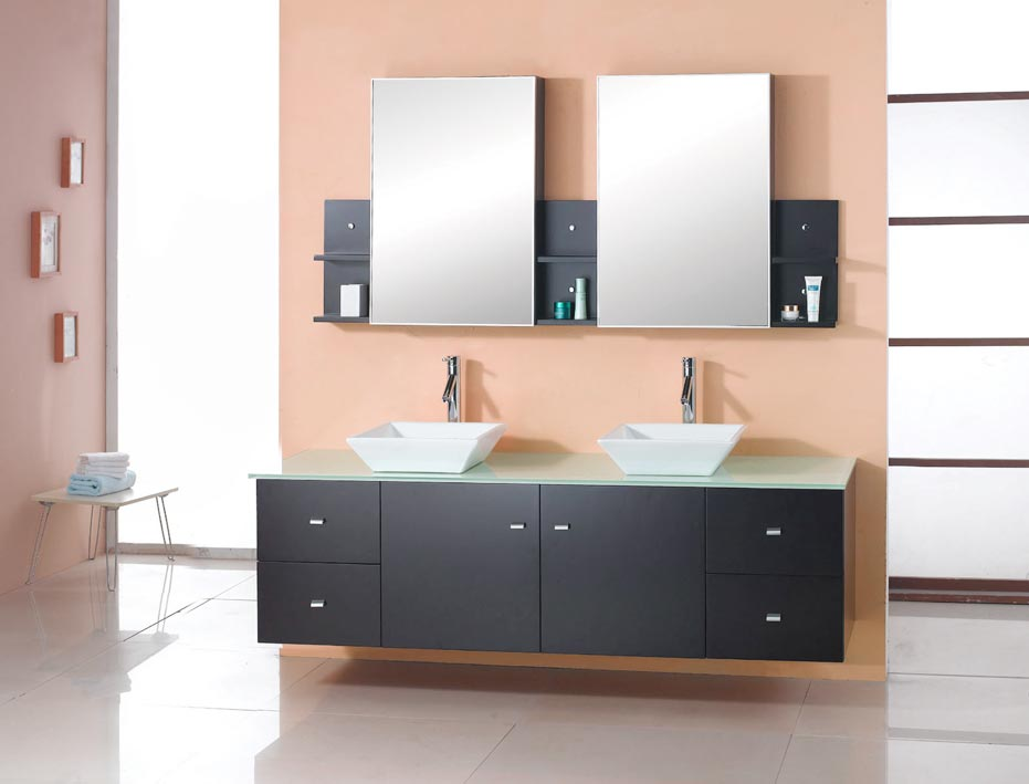 Virtu Amd Clarissa Double Sink Bathroom Idea Vanity