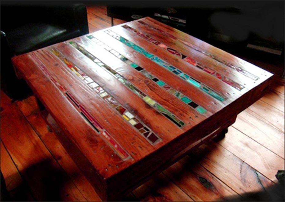 Wood Pallet Artful Coffee Table Project
