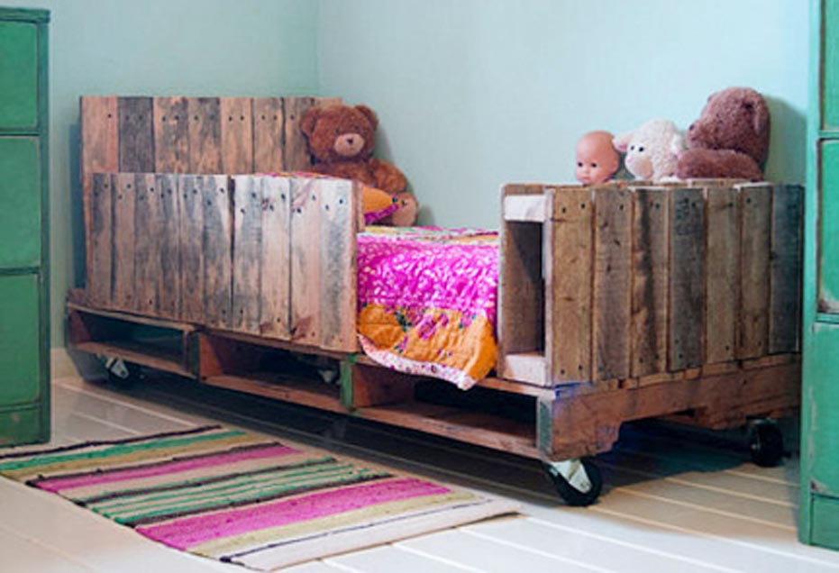 Wood Pallet Daybed Project