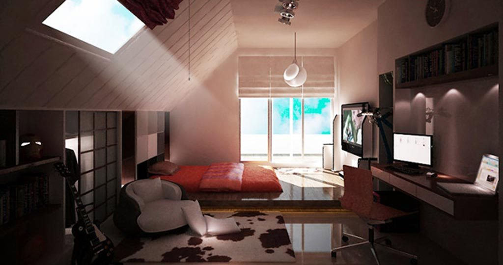 Young man 1 bedroom idea spotlats for Bedroom designs for young men