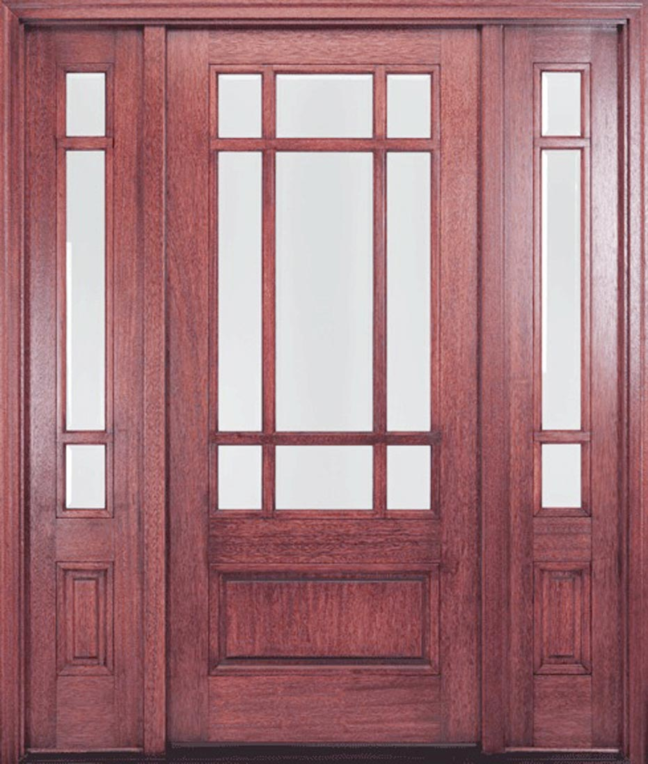 Andersen fiberglass entry doors with sidelights prices 4 for Exterior front door lights