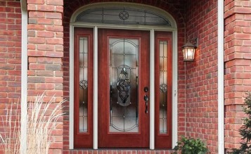 Andersen Fiberglass Entry Doors With Sidelights Prices Images