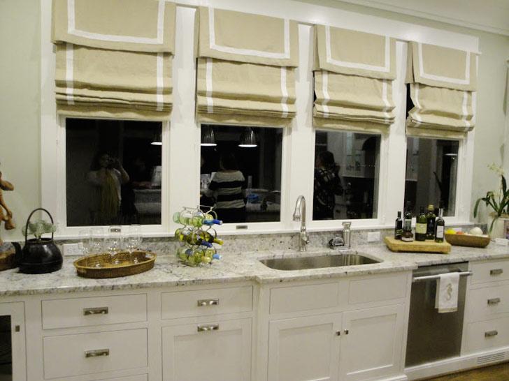 Burlap Roman Shades For Sliding Glass Doors 1