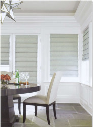 Burlap Roman Shades For Sliding Glass Doors 6