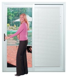French Patio Doors With Built In Blinds 1