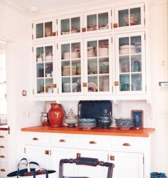 Glass Front Kitchen Cabinet Doors 1