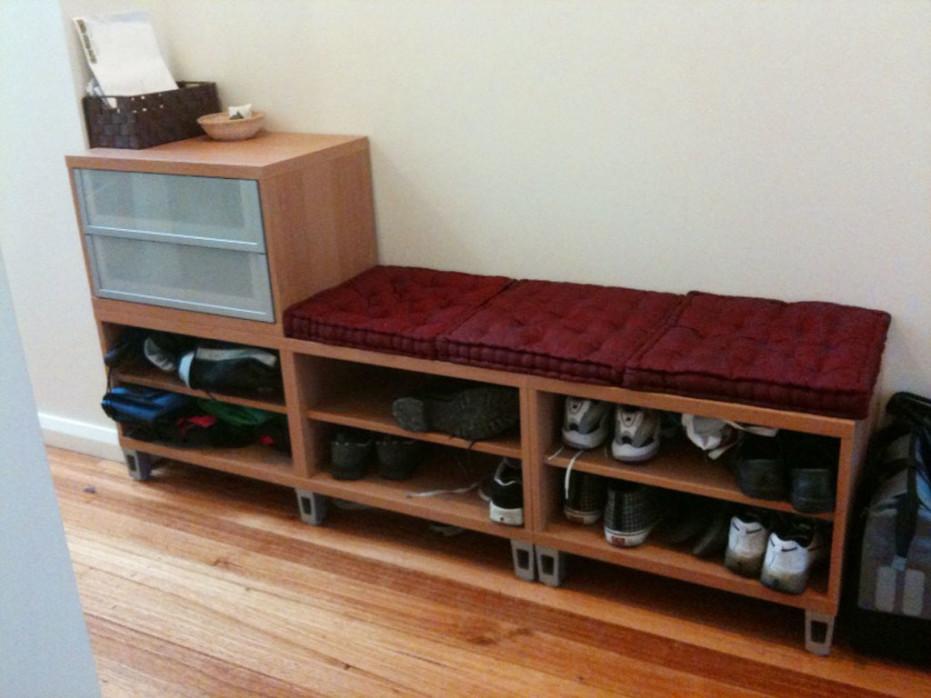 Ikea Shoe Storage Bench 1