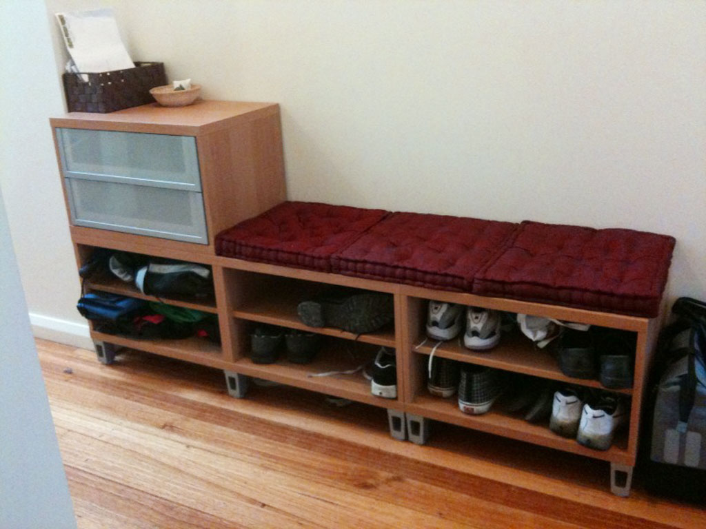 Ikea Shoe Storage Bench 1