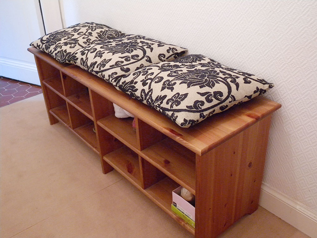 Ikea Shoe Storage Bench 2