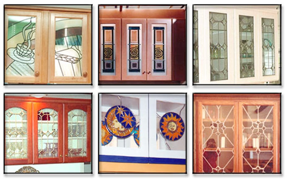 Benefits Of Leaded Stained Glass Kitchen Cabinet Doors
