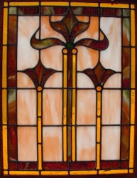 Leaded Stained Glass Kitchen Cabinet Doors 4