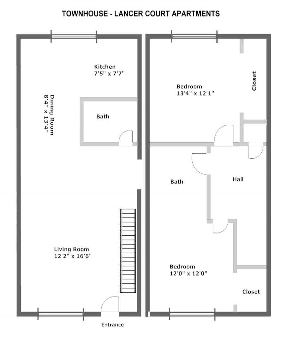 Mother in law master suite addition floor plans 2 spotlats for Floor plans for in law suite addition